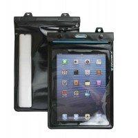 Funda sumergible iPad/Galaxy tab con auriculares