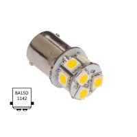 Luz navegación LED BA15D T09