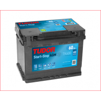 Batería TUDOR AGM 60Ah