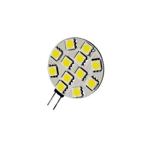 G4 12 LEDs luz cálida