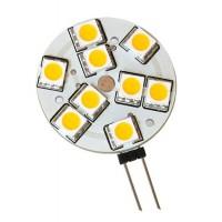 G4 9 LEDs luz cálida